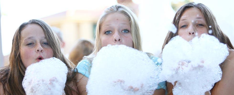 Backyard Foam Party Foam Dance Party Foam Parties Amp Foam